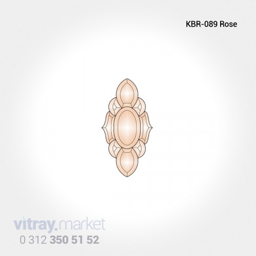 KBR-016 BLUE Renkli Kristal...