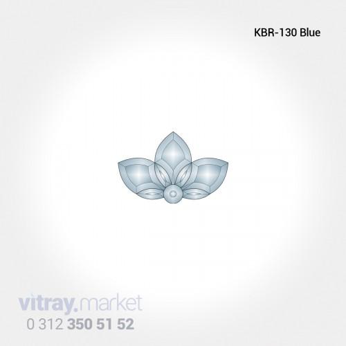 KBR-047 BLUE Renkli Kristal...
