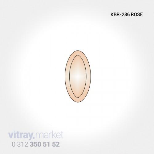 KBR-140 ROSE Renkli Kristal...