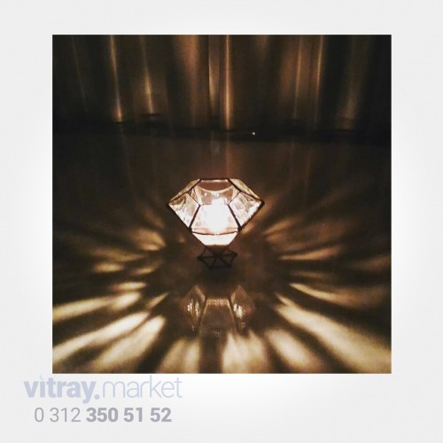 KB-193 A Şeffaf Kristal...