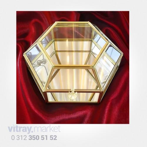 KB-076 Y Şeffaf Kristal...